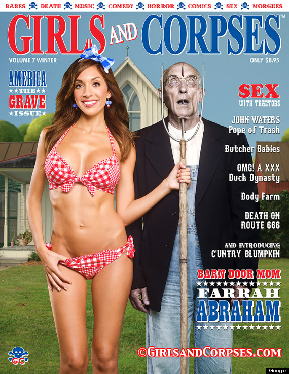Teen Mom Farrah Abraham Makes Cover Of Girls And Corpses Magazine