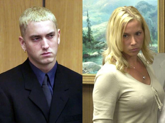 marshall and kim mathers relationship